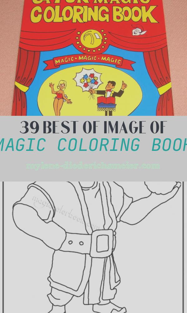 Magic Coloring Book Awesome Fun Magic Coloring Book Pocket Size Easy Shipping