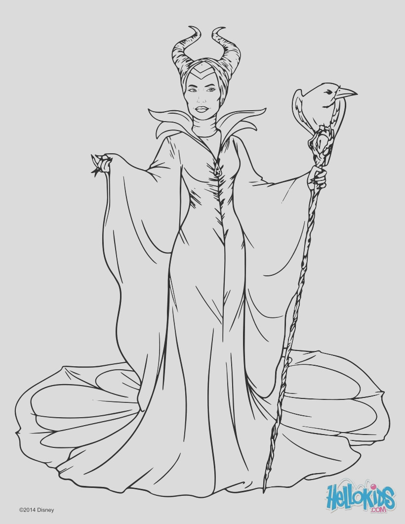 maleficent with cane