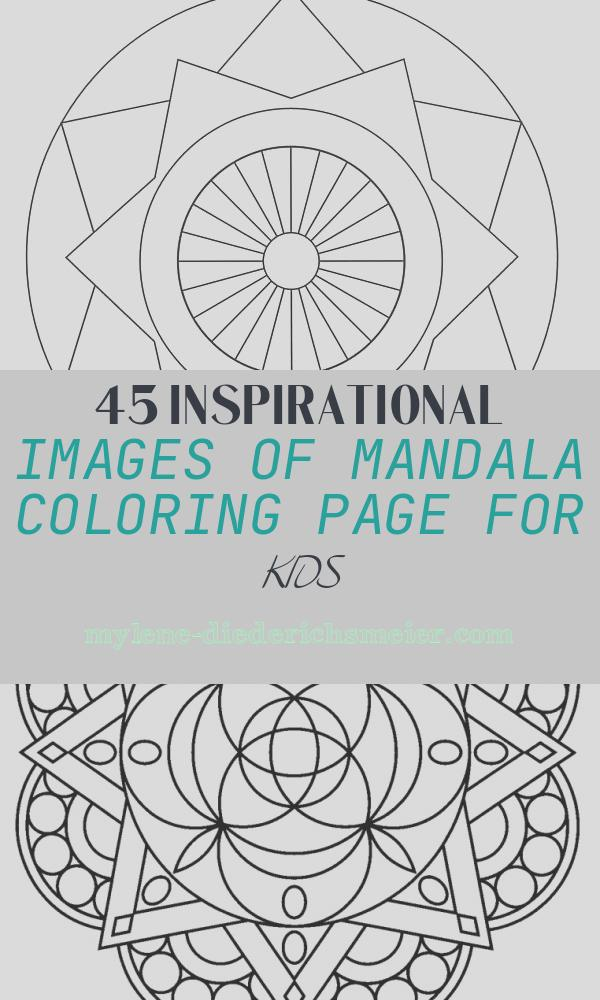 Mandala Coloring Page for Kids Best Of Free Printable Mandalas for Kids Best Coloring Pages for