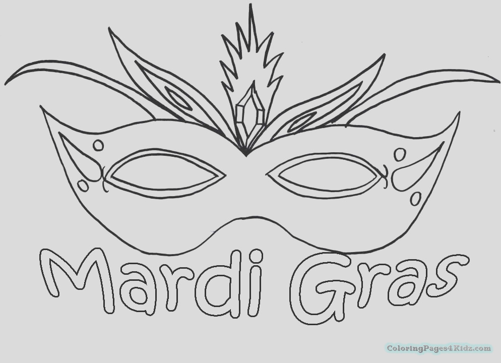 mardi gras mask coloring pages 101