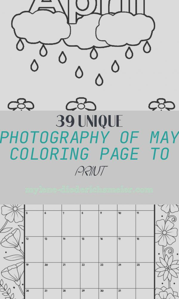May Coloring Page to Print Inspirational April Coloring Pages at Getcolorings
