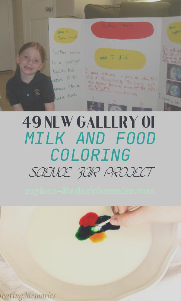 Milk and Food Coloring Science Fair Project Beautiful Love is All You Need Sam S Science Fair