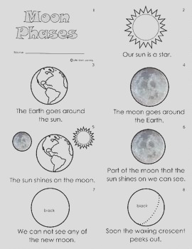 solar system sun moon stars color or paint pages