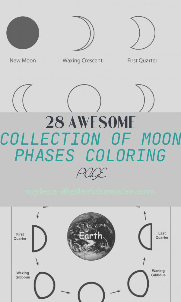 Moon Phases Coloring Page Luxury Moon Phases Coloring Sheets