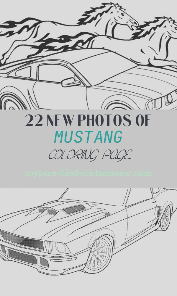 Mustang Coloring Page Unique Printable Mustang Coloring Pages for Kids