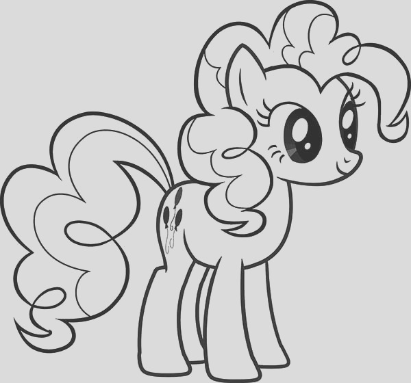 beautiful pinkie pie from my little pony coloring page