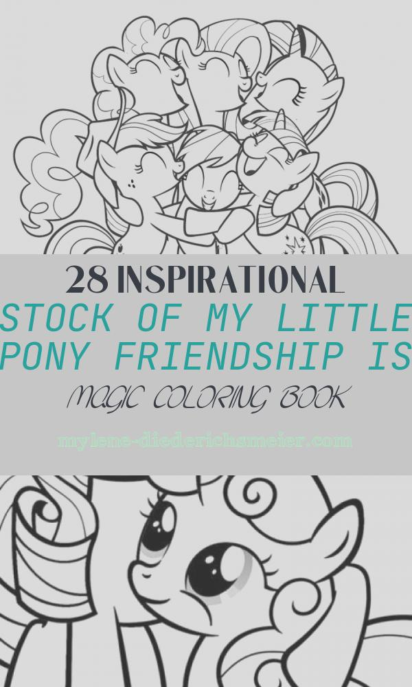 My Little Pony Friendship is Magic Coloring Book Best Of 20 Free Printable My Little Pony Friendship is Magic