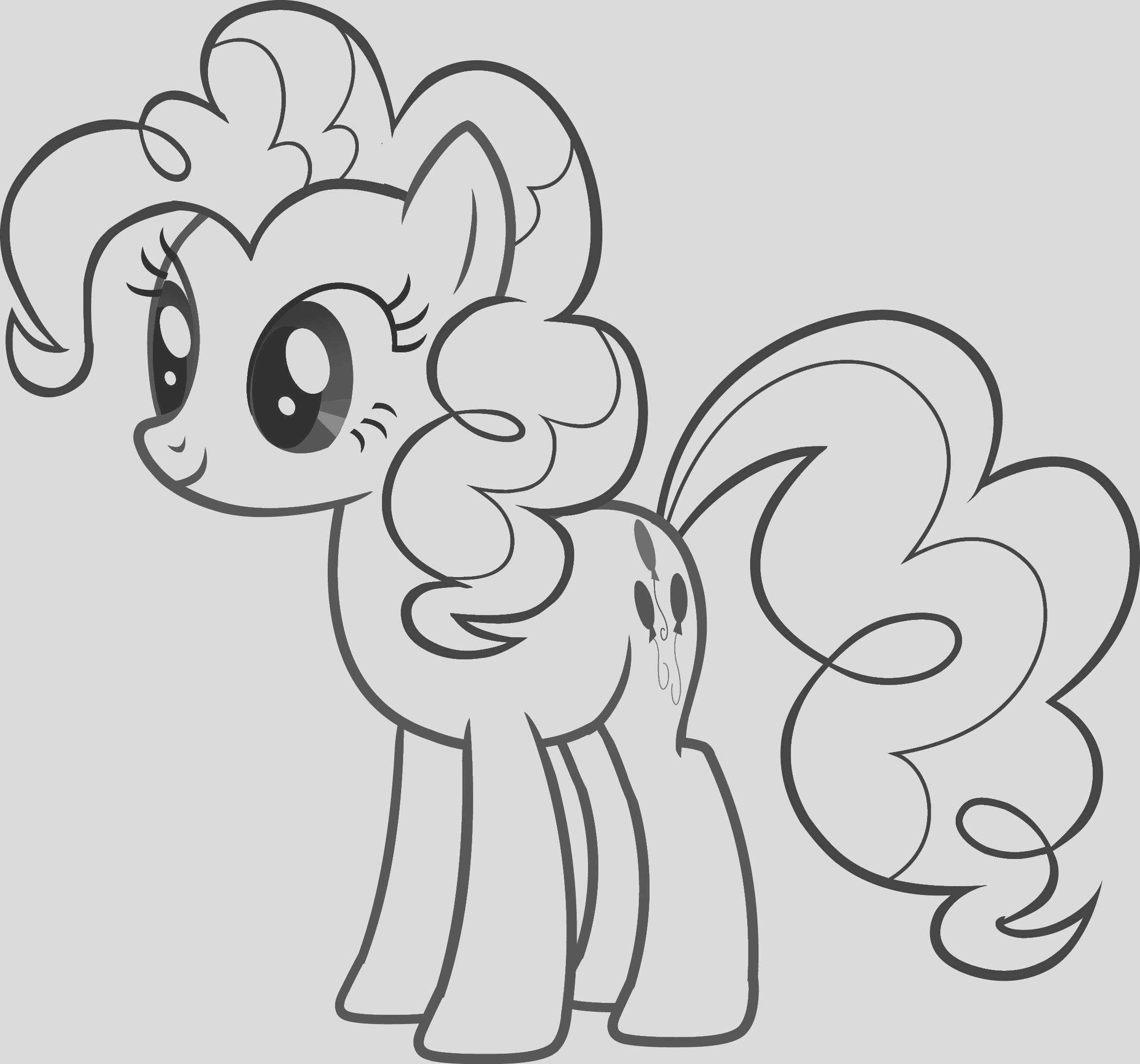 little pony colouring sheets pinkie pie photo