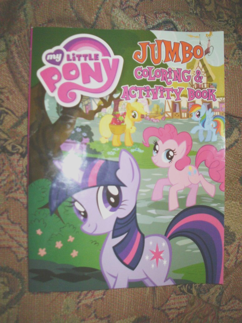 my little pony friendship is magic coloring book