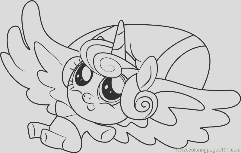 flurry heart coloring page