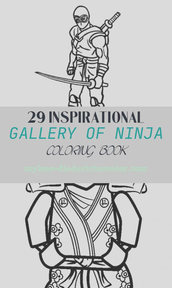 Ninja Coloring Book New Printable Ninja Coloring Pages