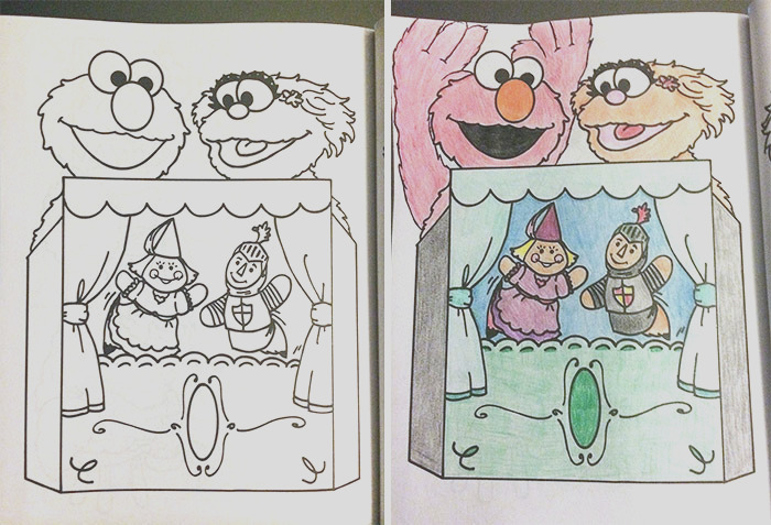 adults coloring childrens books