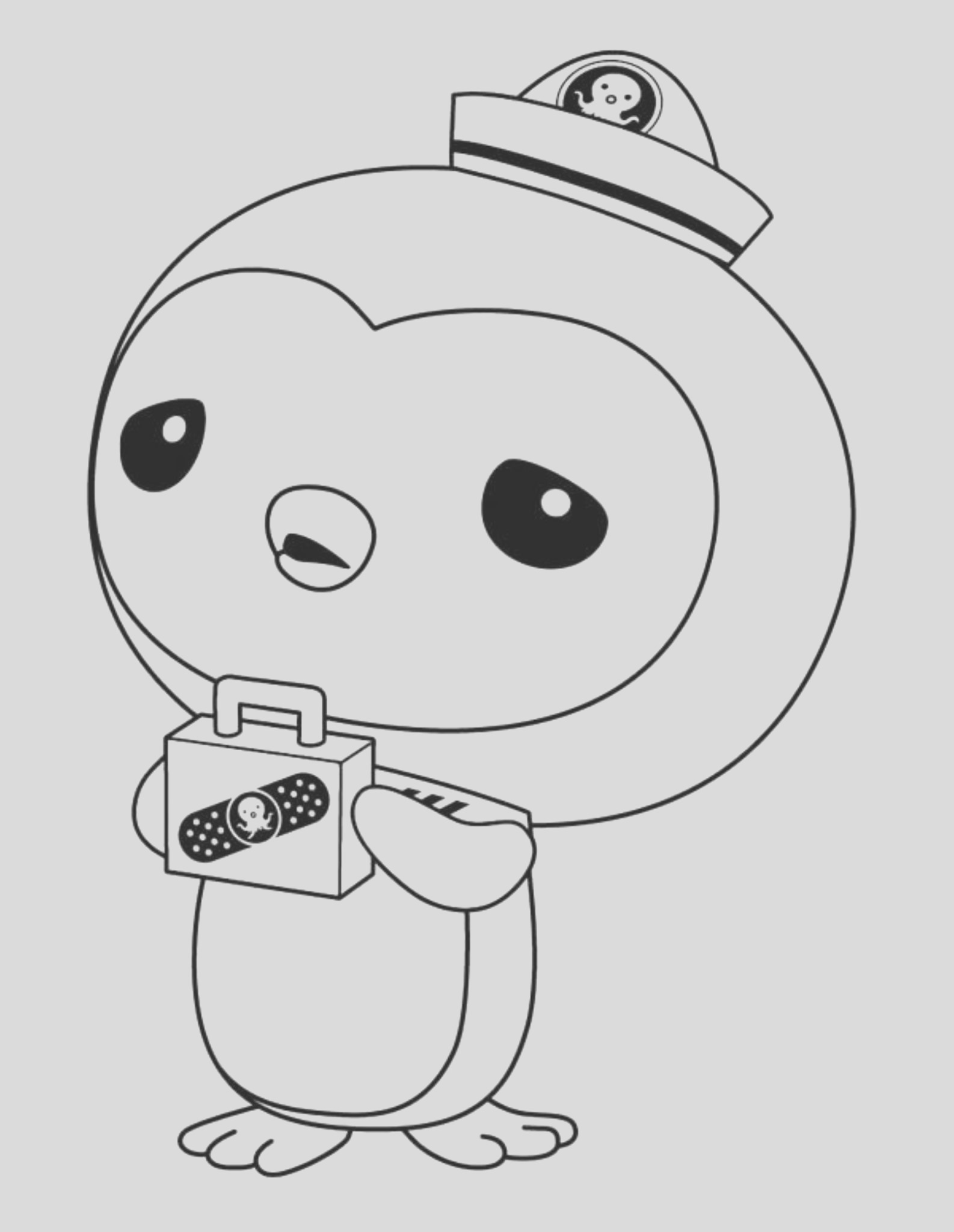 octonauts coloring pages kids activity