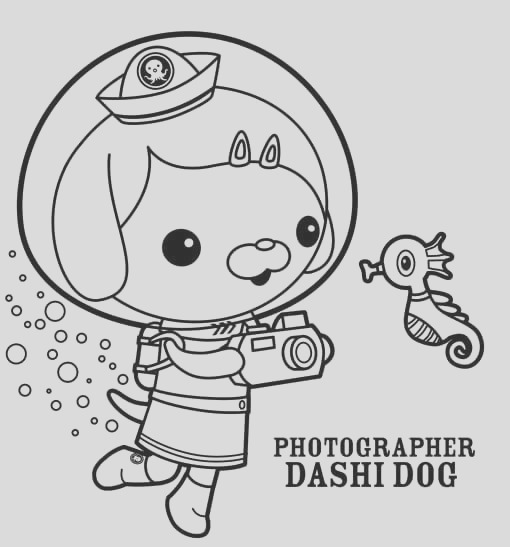 octonauts coloring pages