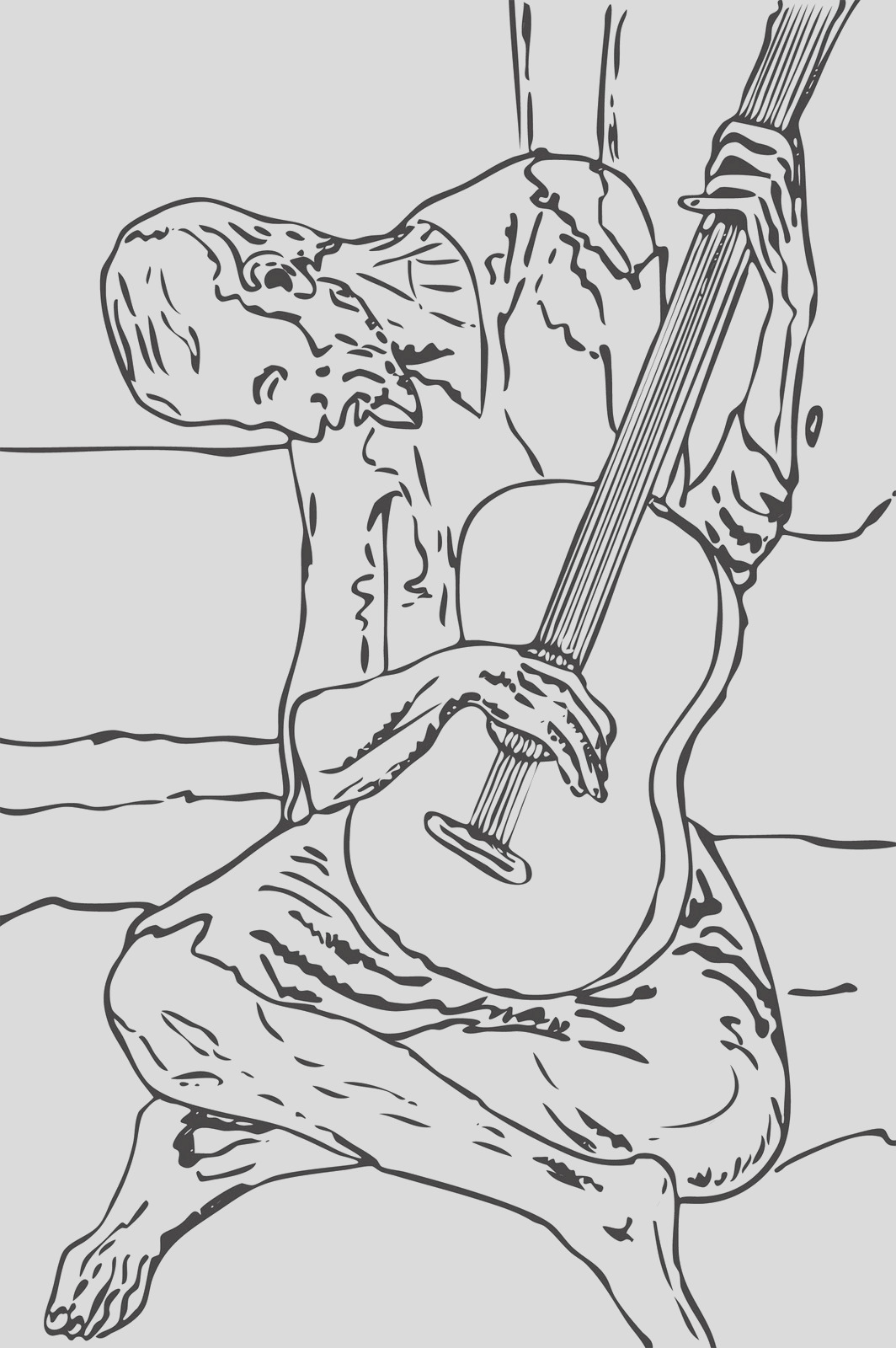 picasso paintings coloring pages sketch templates