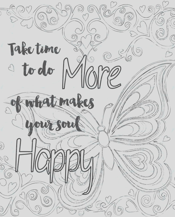 adult inspirational coloring page