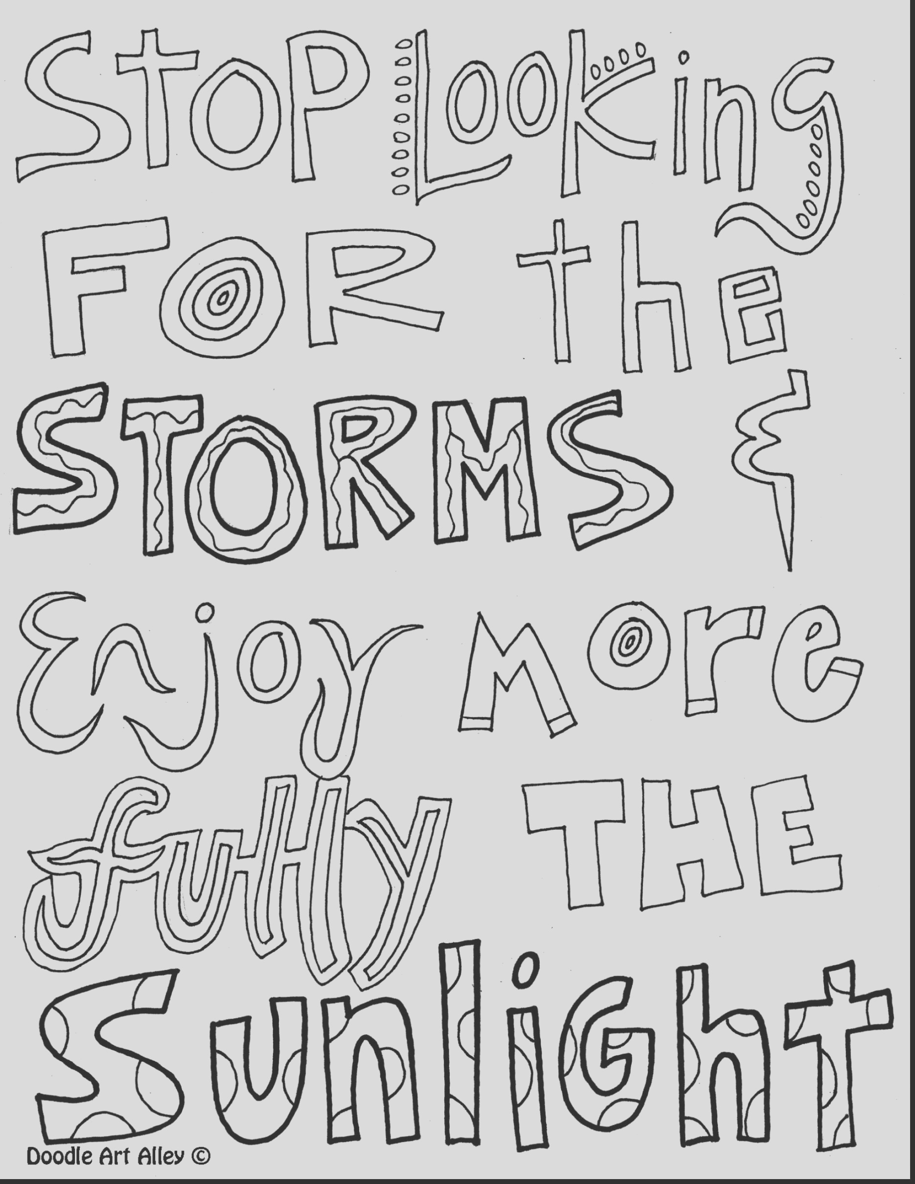 printable inspirational quotes coloring pages