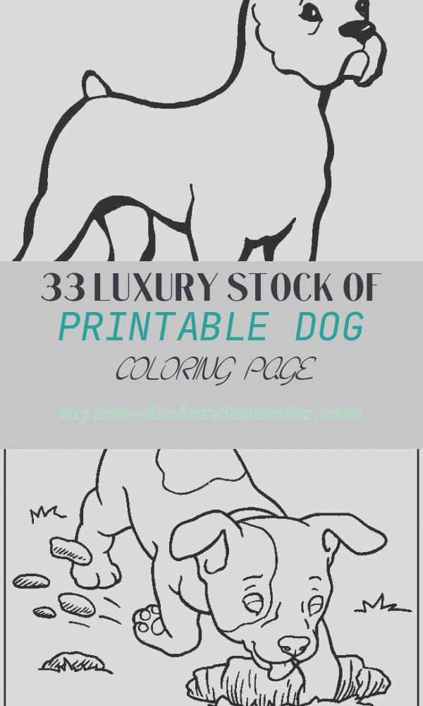 Printable Dog Coloring Page Fresh Free Printable Dog Coloring Pages for Kids