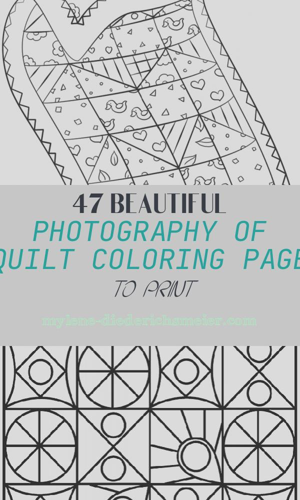 Quilt Coloring Page to Print Fresh Quilt Coloring Page