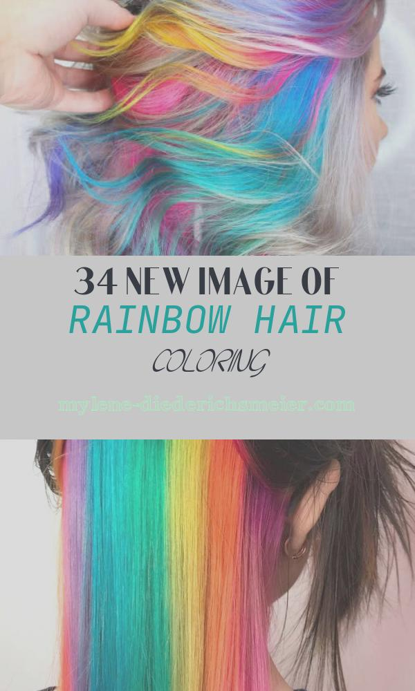 Rainbow Hair Coloring Best Of 28 Cool Rainbow Hair Color Ideas Trending for 2018