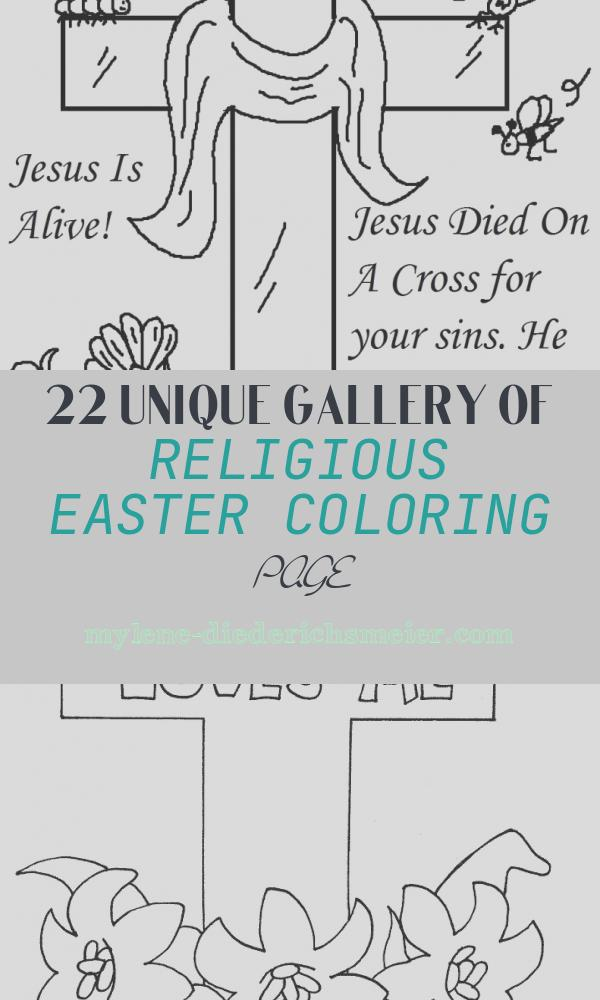 Religious Easter Coloring Page Luxury Religious Easter Coloring Pages Best Coloring Pages for Kids