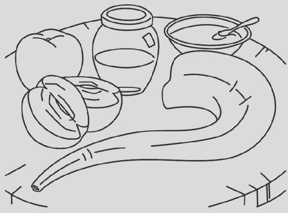 rosh hashanah coloring pages printable for kids