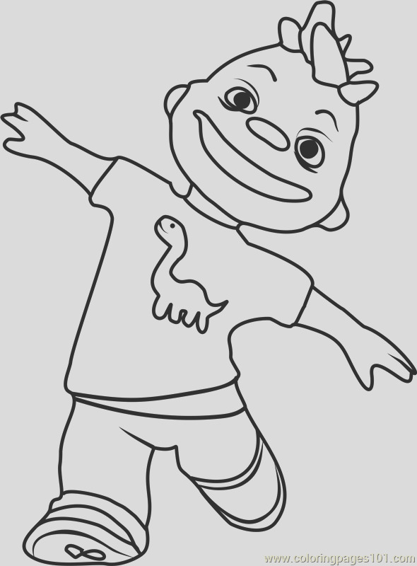 gerald coloring page
