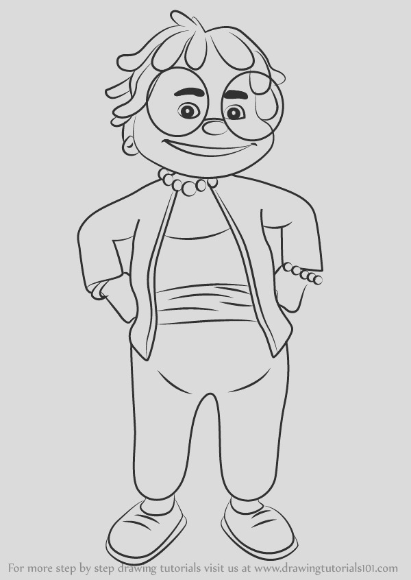 sid the science kid coloring pages