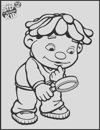 sid the science kid coloring pages for your little one