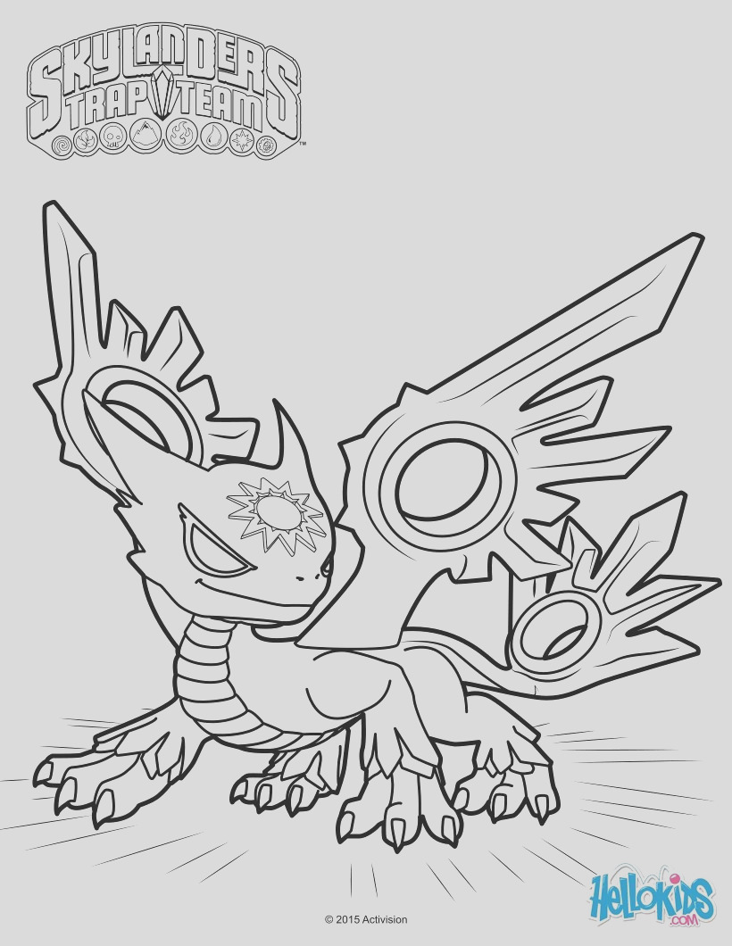 skylanders superchargers spitfire coloring pages sketch templates