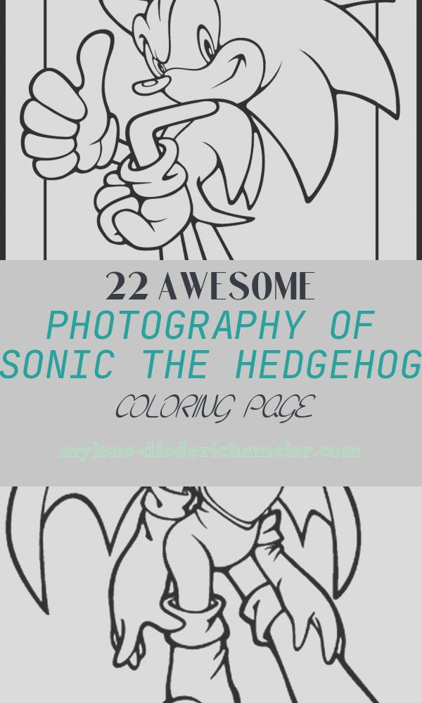 Sonic the Hedgehog Coloring Page Luxury sonic Coloring Pages