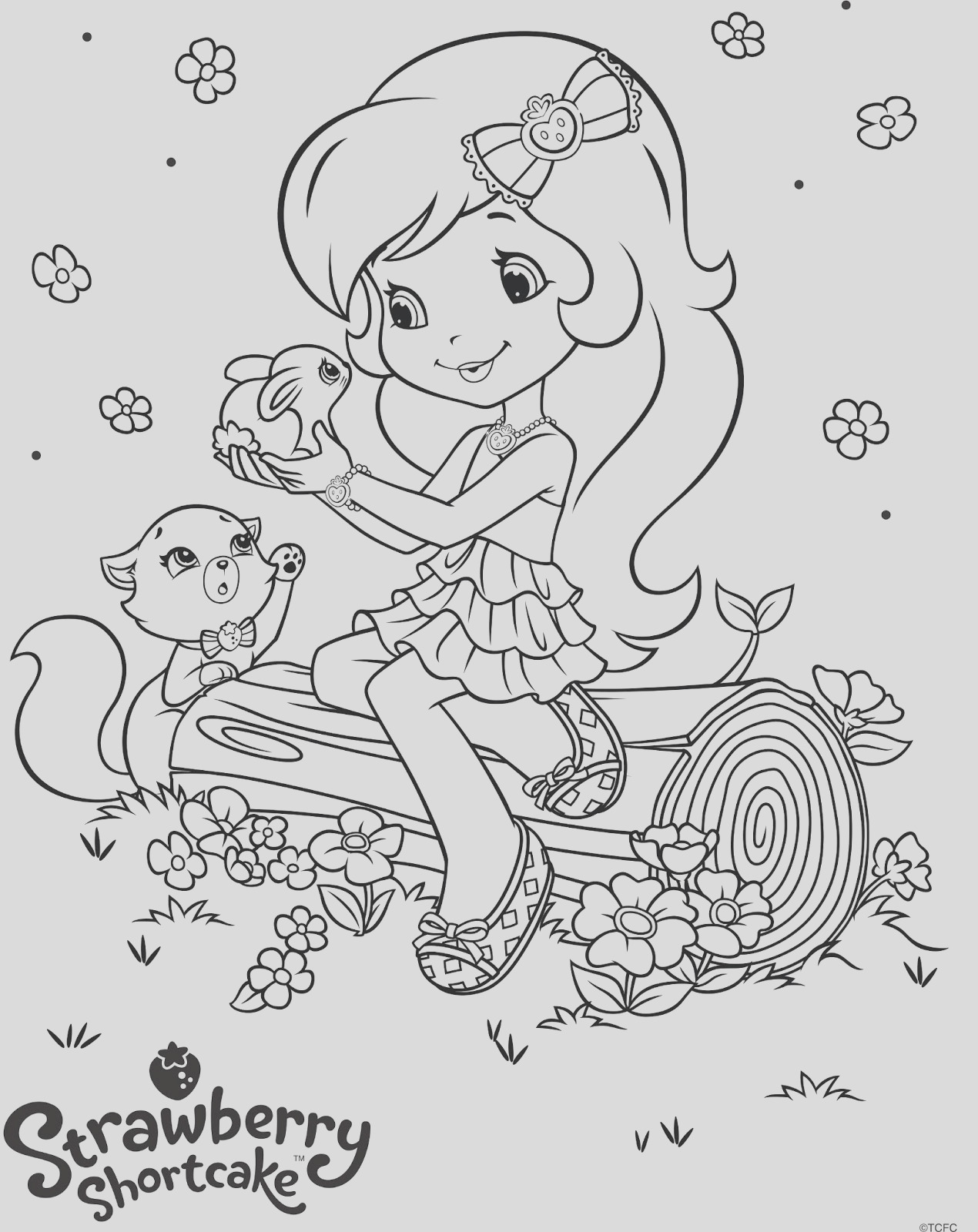 life lessons in animation with strawberryshortcake free coloring pages 20thcenturyfox foxhomeent hubtvnetwork