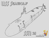 coloring pages to print submarine