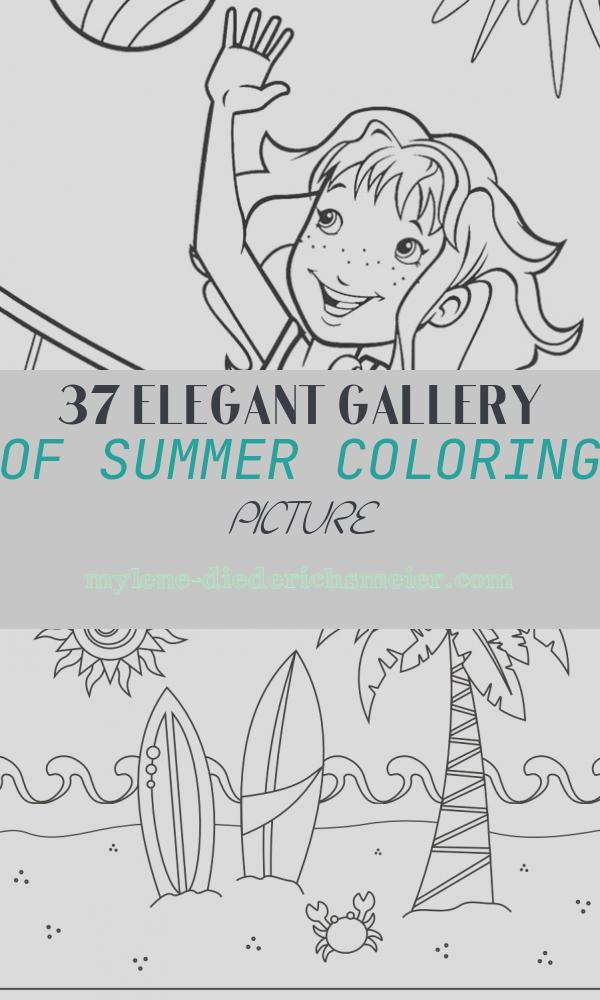 Summer Coloring Picture Inspirational Summer Coloring Pages for Kids Print them All for Free