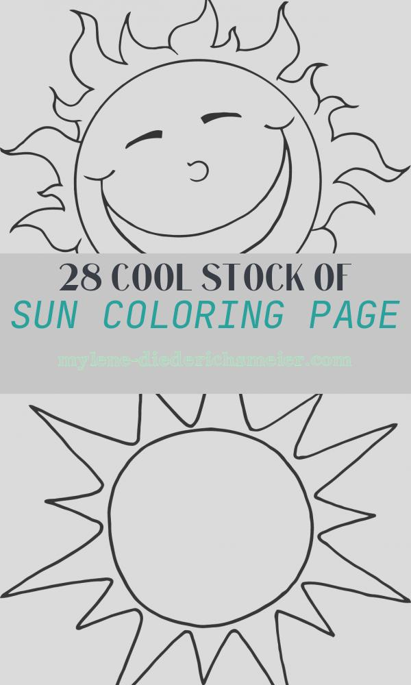 Sun Coloring Page Elegant Free Printable Sun Coloring Pages for Kids