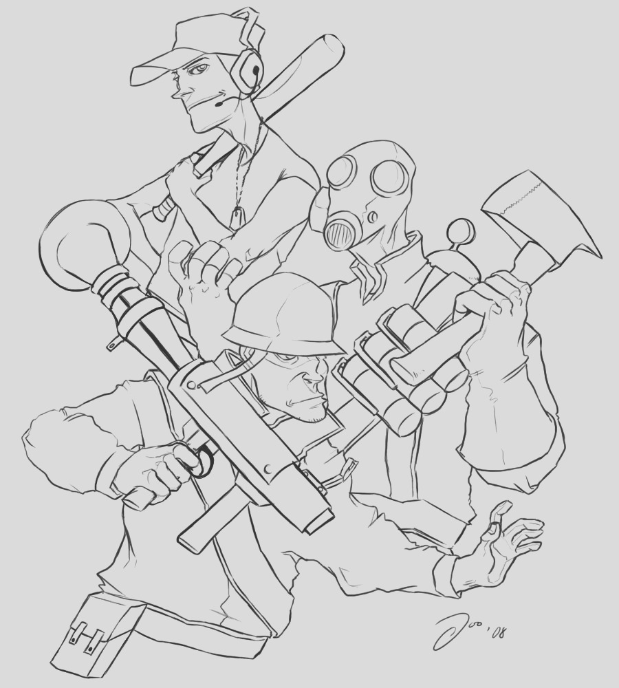 swat team coloring pages
