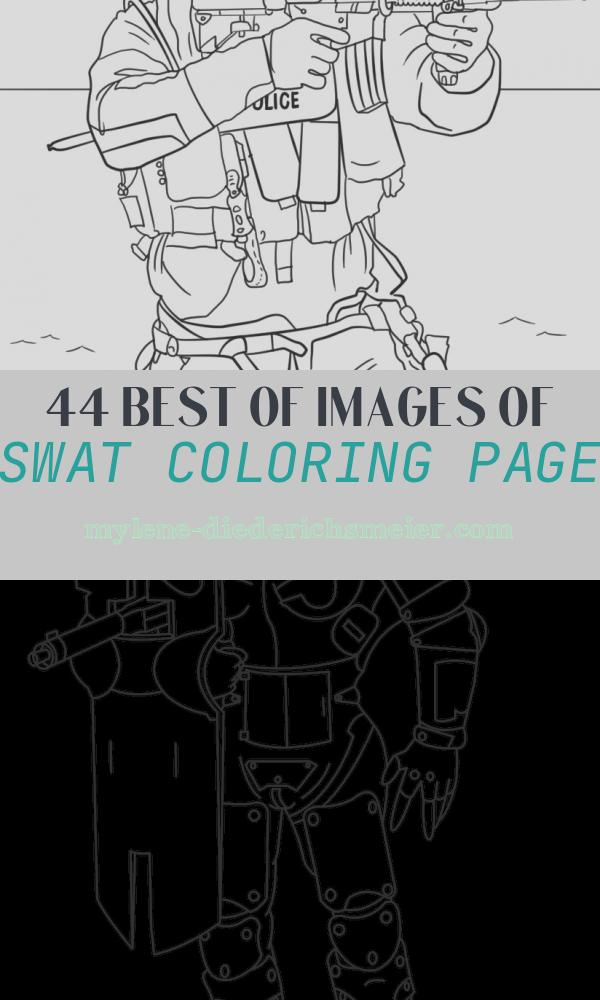 Swat Coloring Page New Swat Police Coloring Page