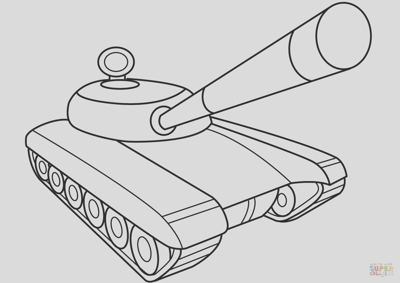 ww2 tank coloring pages