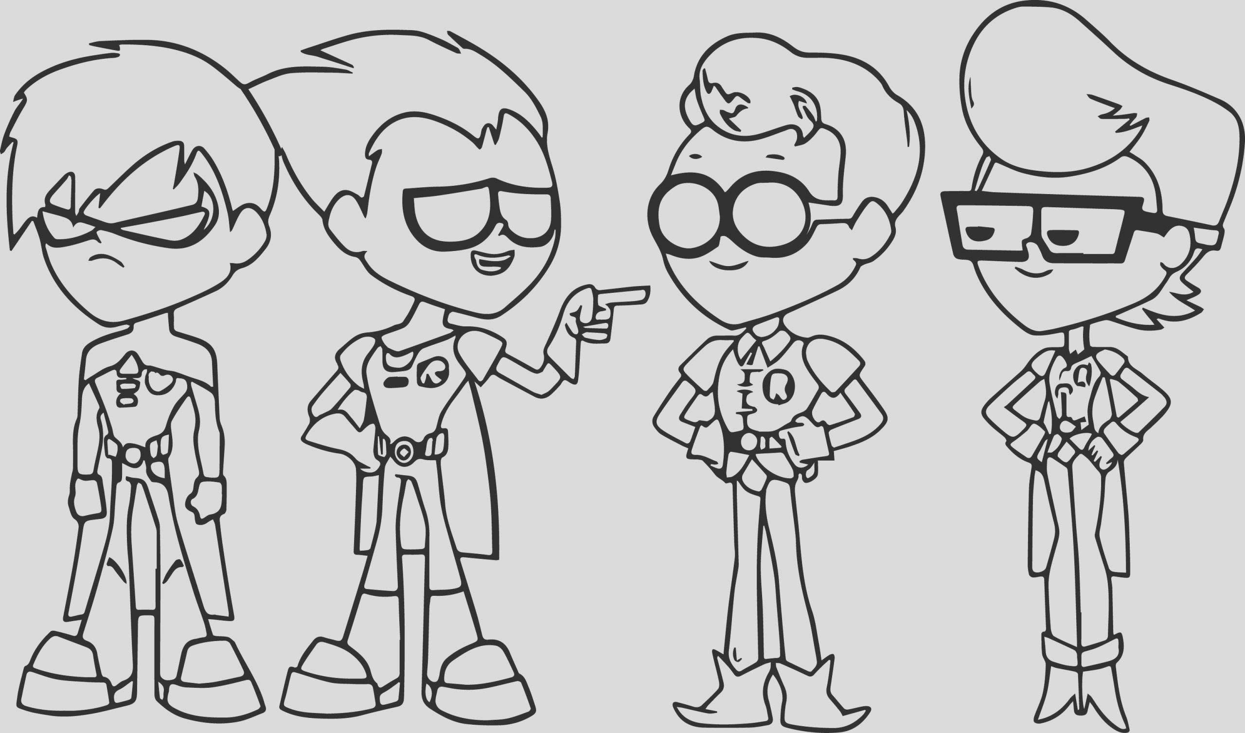 image teen titans go episode 76 best robin coloring page