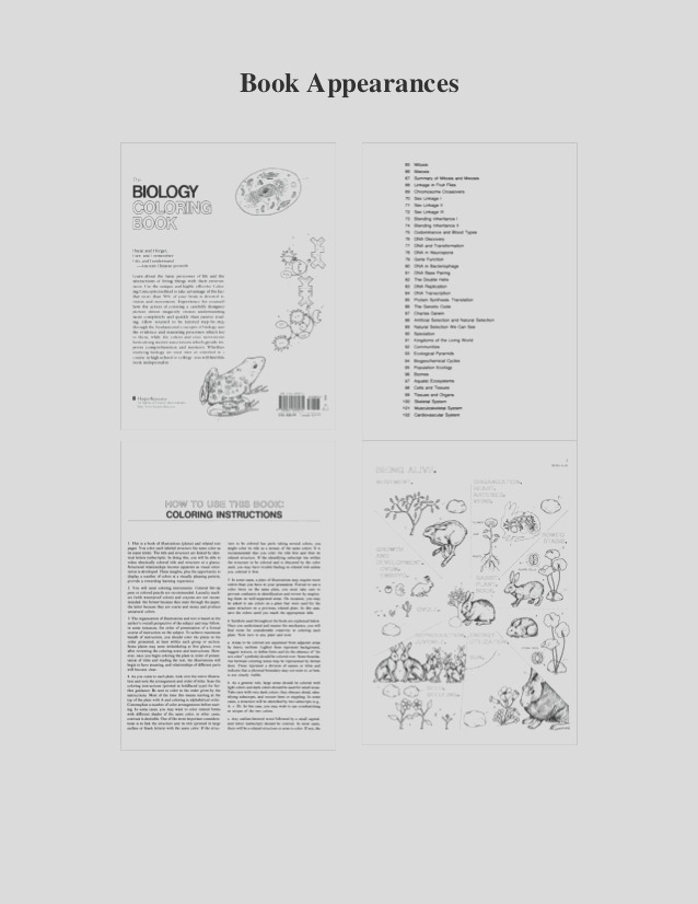 pdf the biology coloring book ebook read online