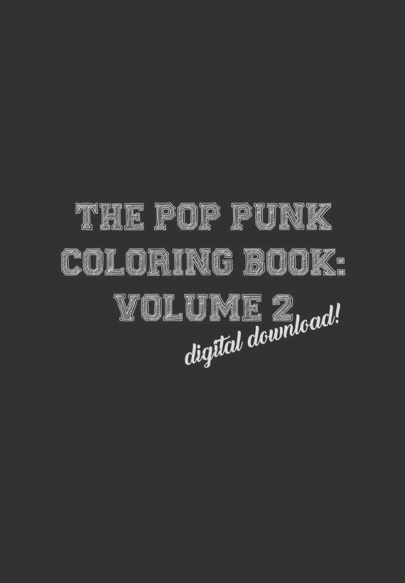 the pop punk coloring book volume 2
