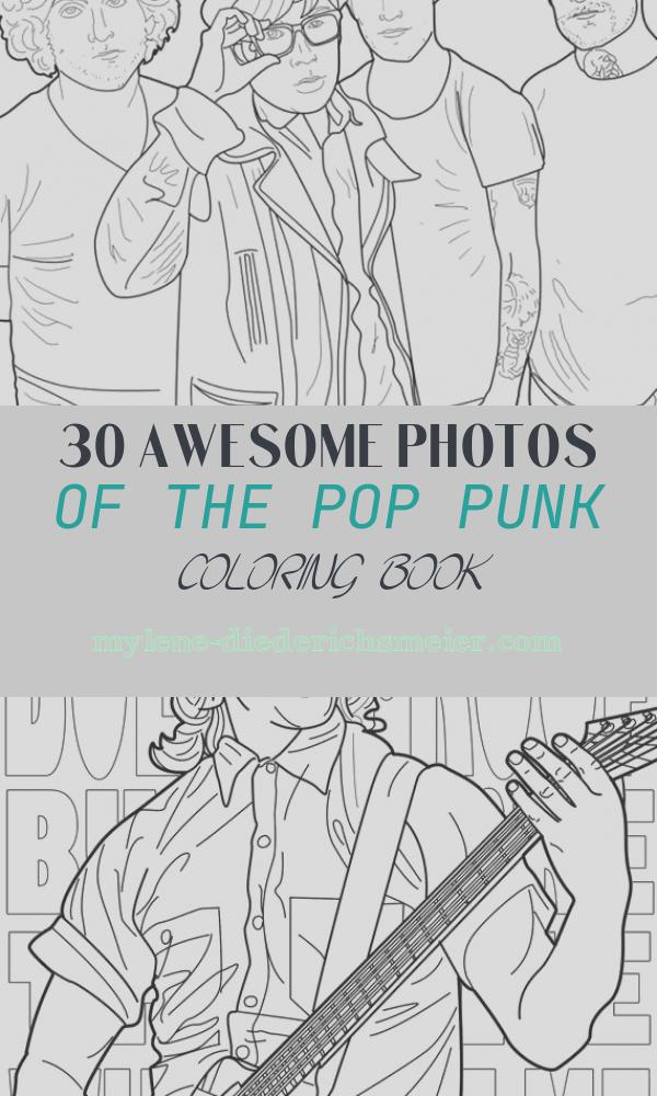 The Pop Punk Coloring Book New This Pop Punk Colouring Book is Just the Greatest News