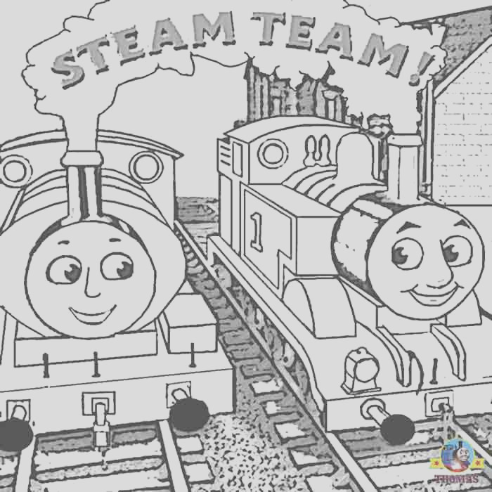 thomas train and friends coloring pages