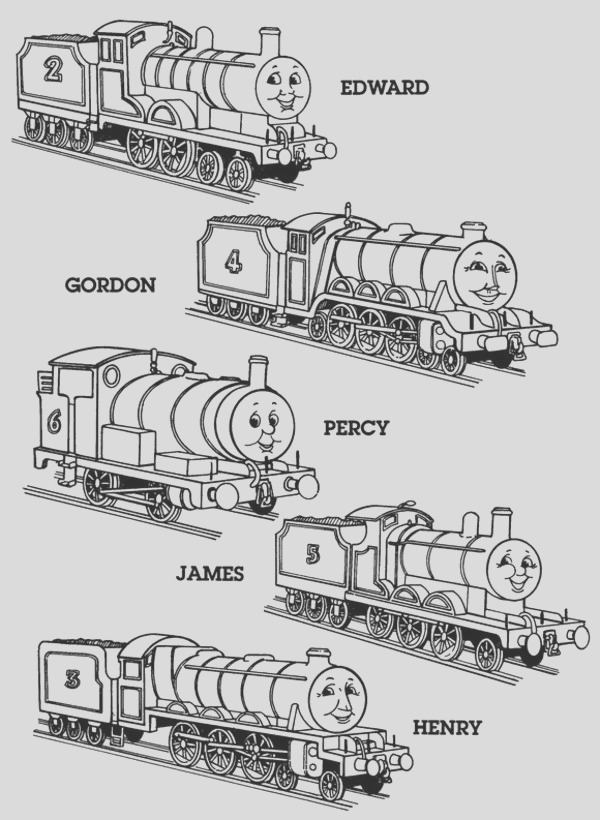 thomas the tank engine coloring pages 5