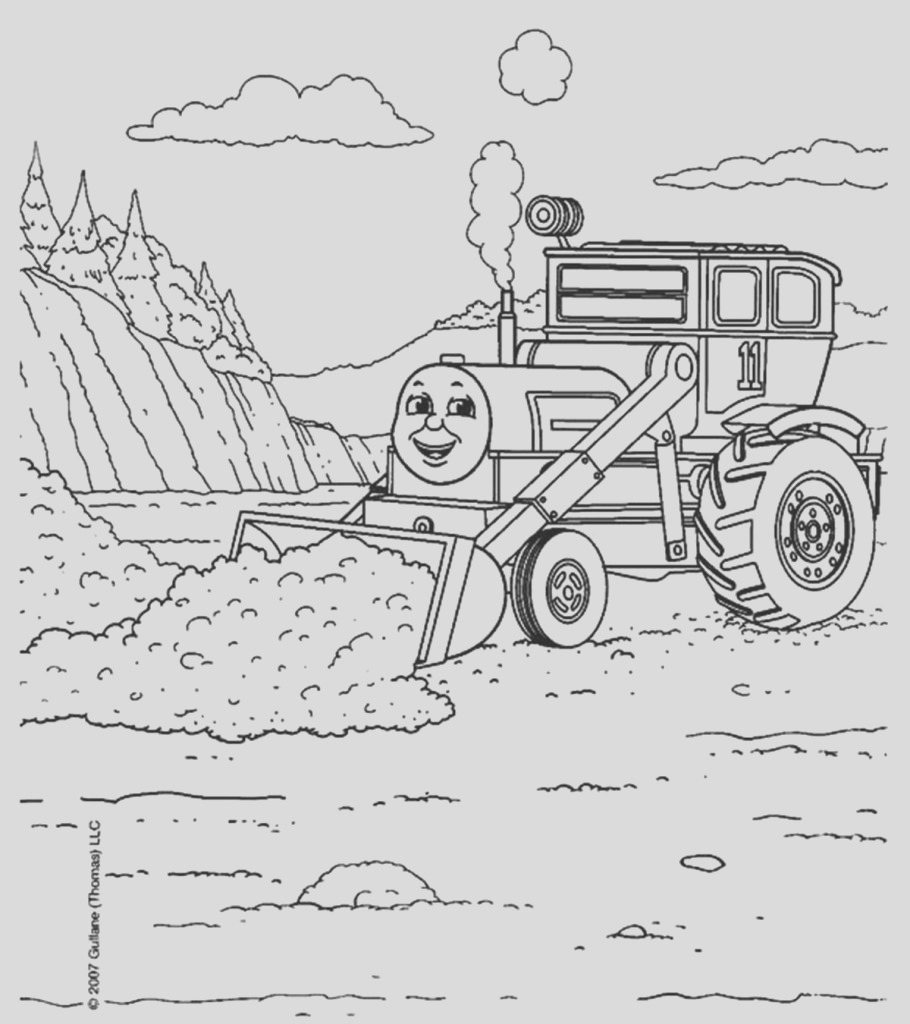 thomas train coloring pages toddler will love