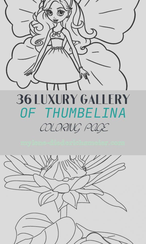 Thumbelina Coloring Page Fresh Barbie Thumbelina Coloring Pages Free Printable Barbie