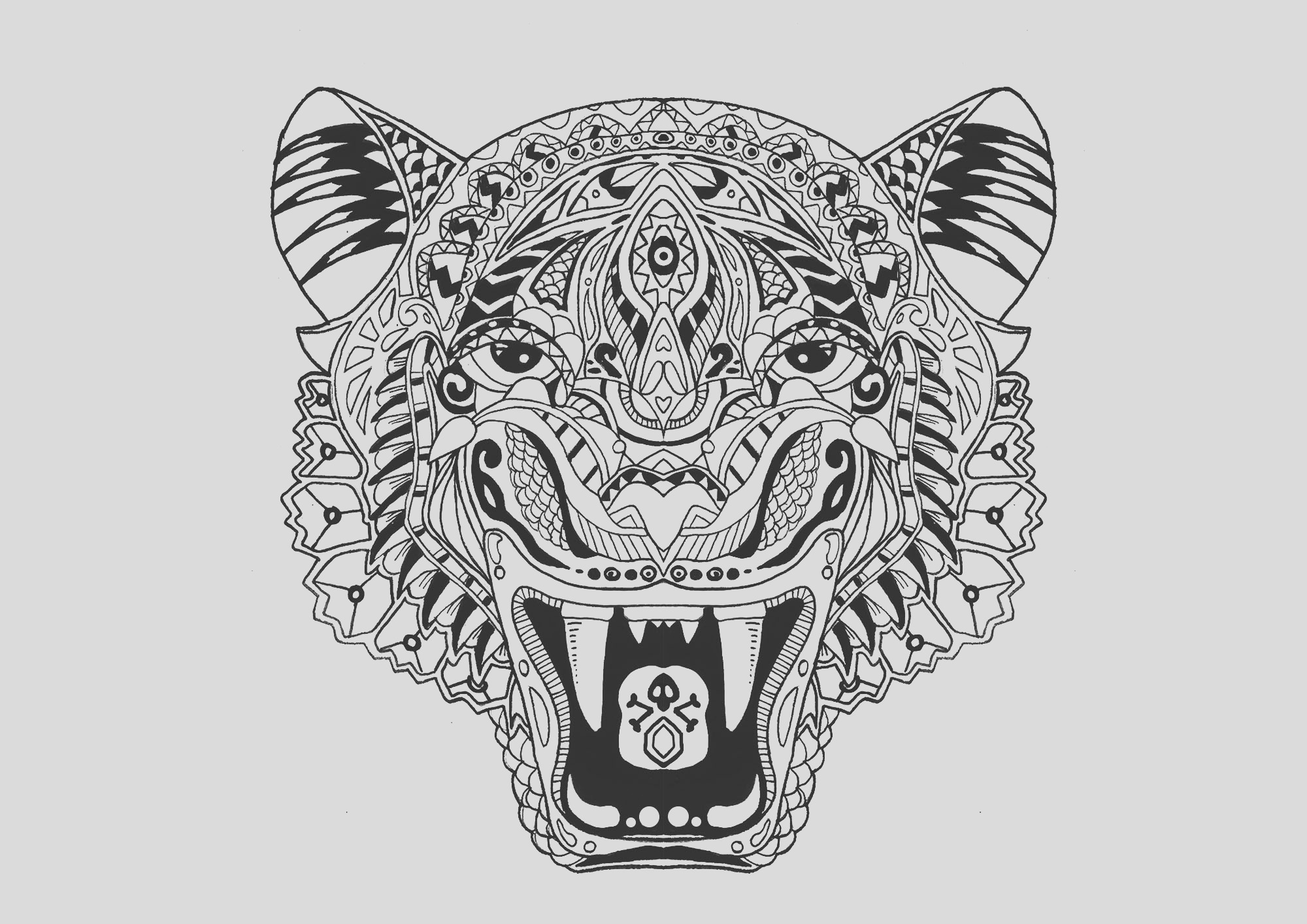 image=tigers coloring page tiger 1