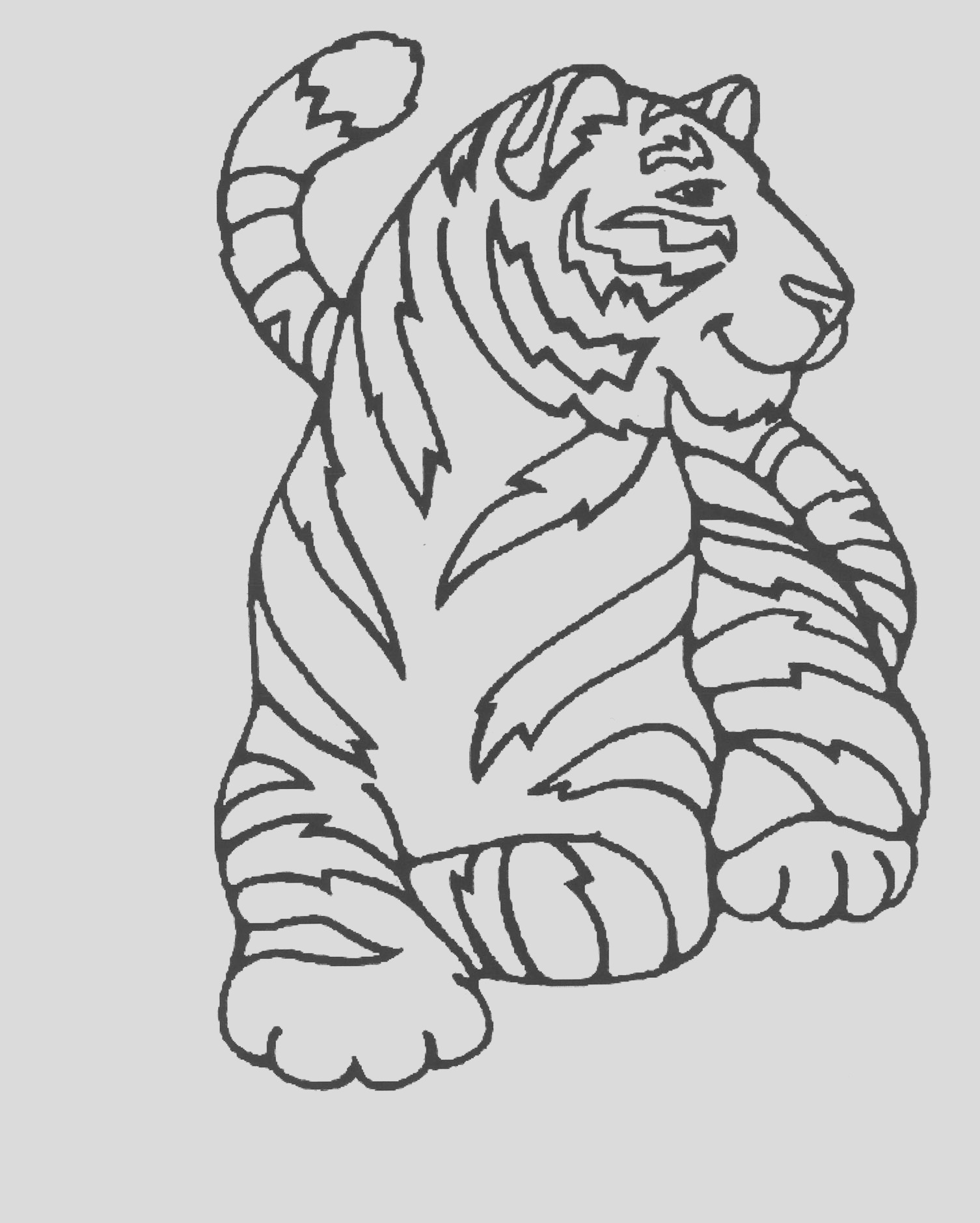 image=tigers coloring pages for children tigers 1
