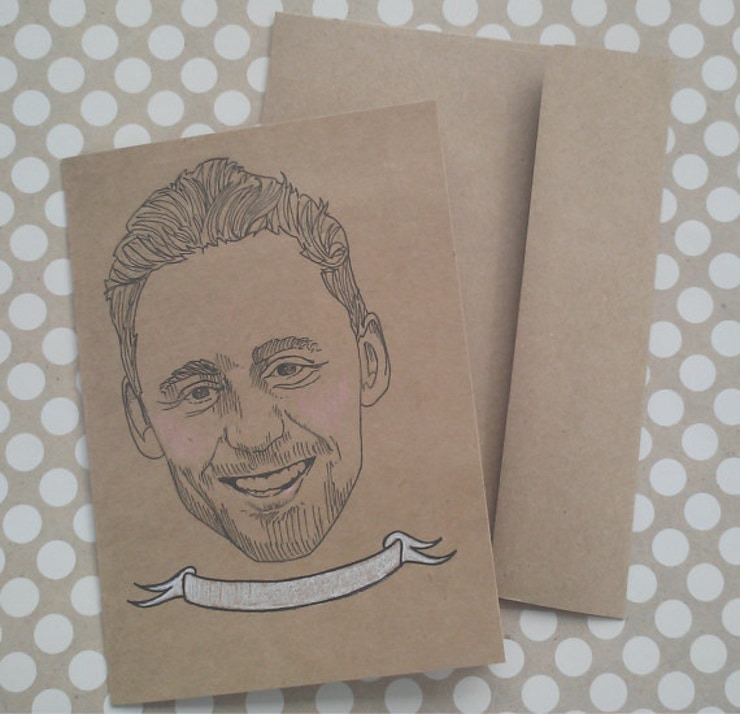 tom hiddleston coloring book earrings pillow cases more awesome merchandise