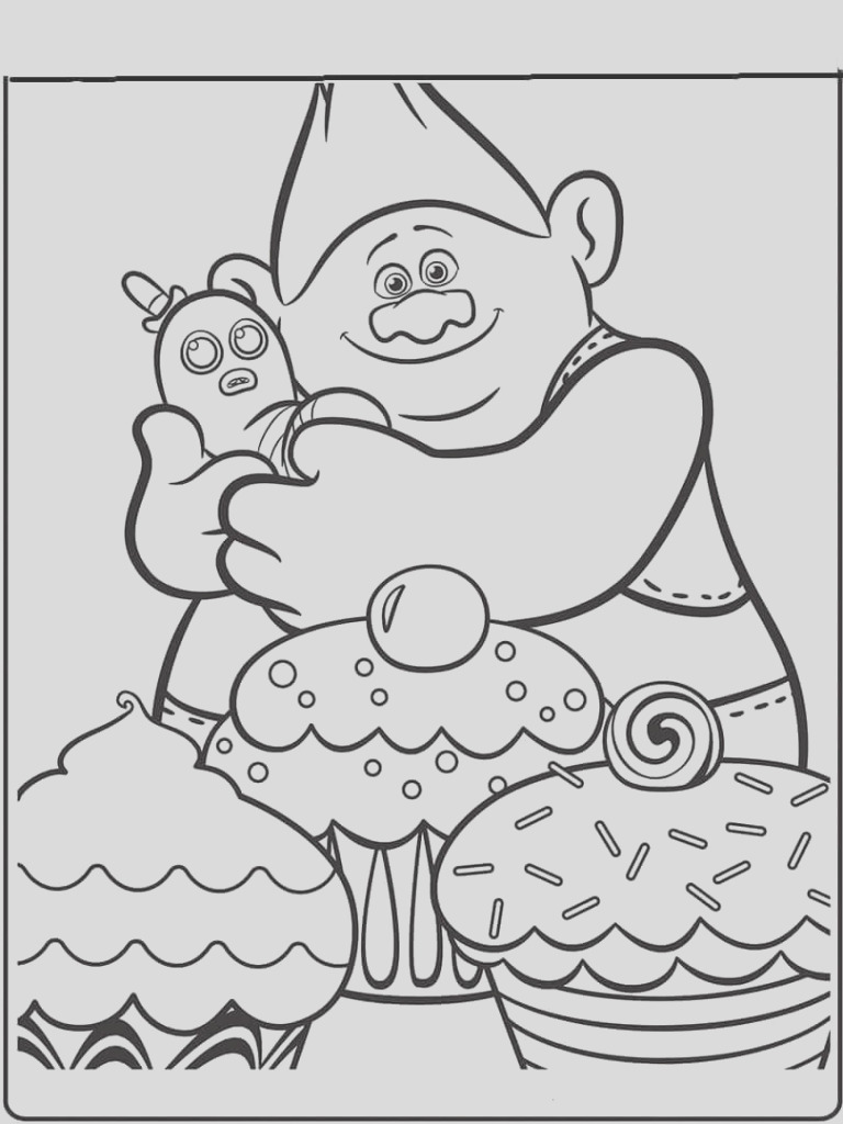 troll hunter coloring pages